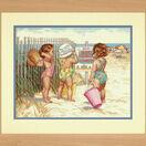 Beach Babies Cross Stitch Kit additional 2
