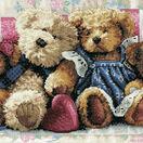 Row of Love Cross Stitch Kit additional 1