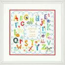 Alphabet Birth Cross Stitch Record Kit additional 2