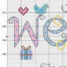 Wedding Word Sampler Cross Stitch Kit additional 4