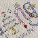 Wedding Word Sampler Cross Stitch Kit additional 3