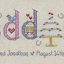 Wedding Word Sampler Cross Stitch Kit additional 2