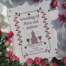 Church Wedding Cross Stitch Kit additional 1