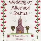 Church Wedding Cross Stitch Kit additional 2