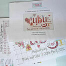Ruby Wedding Anniversary Word Sampler Cross Stitch Kit additional 6