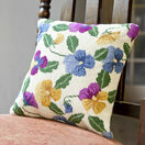 Pansy Garden Herb Pillow Tapestry Kit additional 2