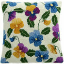 Pansy Garden Herb Pillow Tapestry Kit additional 1