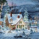 Winter's Hush Cross Stitch Kit additional 1