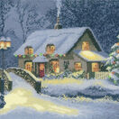 Christmas Cottage Cross Stitch Kit additional 1