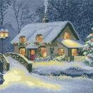 Christmas Cottage Cross Stitch Kit additional 2