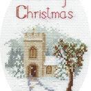 The Church Christmas Card Cross Stitch Kit additional 2