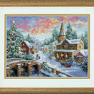 Holiday Village Cross Stitch Kit additional 2