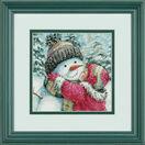 A Kiss For Snowman Cross Stitch Kit additional 2