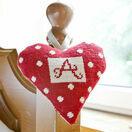 Red Alphabet Lavender Heart Tapestry Kit additional 1
