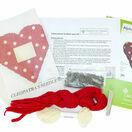 Red Alphabet Lavender Heart Tapestry Kit additional 3