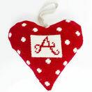 Red Alphabet Lavender Heart Tapestry Kit additional 2