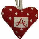 Red Alphabet Lavender Heart Tapestry Kit additional 4