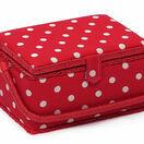 Medium Sewing Basket - Red Spot additional 1