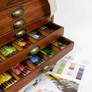 DMC Wooden Collectors Box With 500 Skeins Of Stranded Cotton Thread + FIVE FREE GIFTS WORTH £68.65 additional 4
