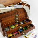 DMC Wooden Collectors Box With 500 Skeins Of Stranded Cotton Thread + FIVE FREE GIFTS WORTH £68.65 additional 1