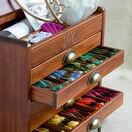 DMC Wooden Collectors Box With 500 Skeins Of Stranded Cotton Thread + FIVE FREE GIFTS WORTH £68.65 additional 3
