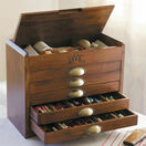 DMC Wooden Collectors Box With 500 Skeins Of Stranded Cotton Thread + FIVE FREE GIFTS WORTH £68.65 additional 2