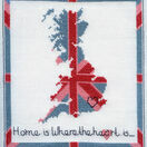Stitch Kits Home Is Where The Heart Is Cross Stitch Kit additional 1
