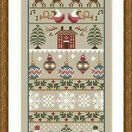 Merry Christmas Cross Stitch Kit additional 3