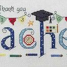 Thank You Teacher Cross Stitch Kit additional 2