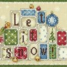 Let It Snow Cross Stitch Kit additional 1