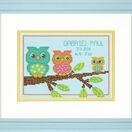 Mini Owl Birth Record Cross Stitch Kit additional 2
