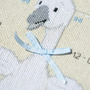 Goose With Bow Birth Record Cross Stitch Kit additional 3