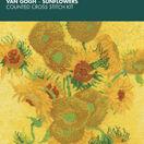 Van Gogh - Sunflowers Cross Stitch Kit additional 2