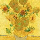 Van Gogh - Sunflowers Cross Stitch Kit additional 1