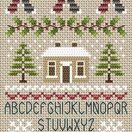Noel Noel Alphabet Cross Stitch Kit additional 2