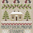 Noel Noel Alphabet Cross Stitch Kit additional 1
