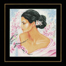 Lady With Blossoms Cross Stitch Kit additional 2