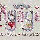 Engaged Cross Stitch Kit additional 1