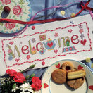 Welcome Word Cross Stitch Kit additional 1