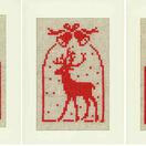 Christmas Silhouette Cross Stitch Card Kits (Set Of 3) additional 2
