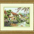 Village Canal Cross Stitch Kit additional 2