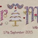 Mr & Mrs Cross Stitch Kit additional 2