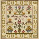 Golden Anniversary Sampler Cross Stitch Kit additional 1