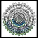 Design Works Mandala - Zenbroidery Fabric Pack additional 1