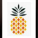 Pineapple Cross Stitch Kit additional 1