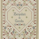 Confetti Wedding Sampler Cross Stitch Kit additional 1