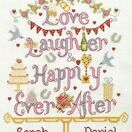 Love, Laughter, Happily Ever After Cross Stitch Kit additional 1