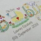 Baby Neutral Birth Sampler Cross Stitch Kit additional 4