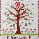 Family Tree Cross Stitch Kit additional 3