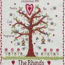 Family Tree Cross Stitch Kit additional 1